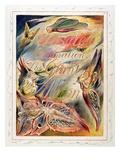 Title Page for 'Jerusalem: the Emanation of the Giant Albion, 1804-20 Reproduction procédé giclée par William Blake