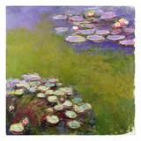 Waterlilies, 1914-17 Lámina giclée por Claude Monet