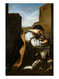 Melancholy Giclée-tryk af Domenico Fetti or Feti