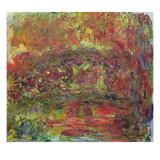The Japanese Bridge, 1918-24 Giclée-Druck von Claude Monet