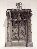 Gates of Hell, C.1890 (Bronze) Giclée-tryk af Auguste Rodin