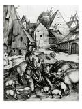 The Prodigal Son, 1496 (Engraving) Giclée-Druck von Albrecht Dürer