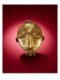 Asante Mask, from Ghana (Gold) Reproduction procédé giclée par  African