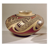 Hopi 'Bullware' Jar, from Arizona (Ceramic) Giclee Print by  American