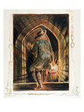 Frontispiece to 'Jerusalem' (Bentley Copy E) 1804-20 (Etching with Pen, W/C and Gold on Paper) Lámina giclée por William Blake