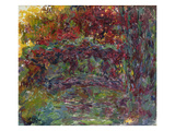 The Japanese Bridge at Giverny, 1918-24 Giclée-Druck von Claude Monet