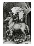 The Small Horse, 1505 (Engraving) Reproduction procédé giclée par Albrecht Dürer