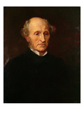 John Stuart Mill, 1873 Reproduction procédé giclée par George Frederick Watts