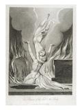 The Reunion of the Soul and the Body, Pl.13 Reproduction procédé giclée par William Blake