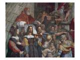 Expulsion of Heliodorus from the Temple Reproduction procédé giclée par  Raphael