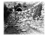 Pool of Siloam, Jerusalem, 1857 (B/W Photo) Giclee Print by James Robertson