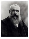 Portrait of Claude Monet (1841-1926) 1901 (B/W Photo) Gicléedruk van  Nadar
