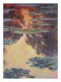 Waterlilies, 1907 Impressão giclée por Claude Monet