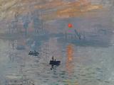 Impression soleil levant, 1872 Reproduction procédé giclée par Claude Monet