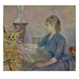 Paule Gobillard (1867-1946) Painting, 1887 Giclee Print by Berthe Morisot