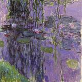 Nympheas, 1916-19 Reproduction procédé giclée par Claude Monet