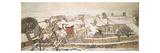 Winter, 1872 Reproduction procédé giclée par Camille Pissarro