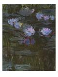 Waterlilies, 1914-17 (Detail) Impressão giclée por Claude Monet
