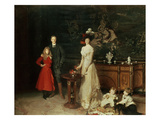 The Sitwell Family, 1900 Giclee Print by John Singer Sargent