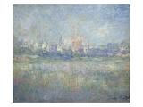 Vetheuil in the Fog, 1879 Giclée-Druck von Claude Monet