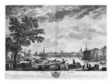 Port of La Rochelle, Seen from the Small Shore, Series of 'Les Ports De France' Giclée-Druck von Claude Joseph Vernet