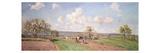 Spring, 1872 Reproduction procédé giclée par Camille Pissarro