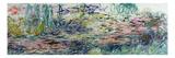 Waterlilies, 1917-19 Giclée-Druck von Claude Monet
