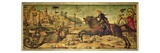 St. George Killing the Dragon, 1502-07 Giclée-tryk af Vittore Carpaccio