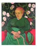 La Berceuse, January 1889 Giclee-trykk av Vincent van Gogh