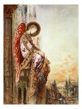 Angel Traveller (W/C) Giclee Print by Gustave Moreau