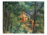 Chateau Noir, C.1904 Reproduction procédé giclée par Paul Cézanne