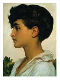 Paolo, 1875 Giclée-tryk af Frederick Leighton
