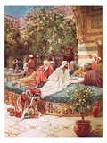 Jesus at the House of Simon the Pharisee Giclee Print by William Brassey Hole