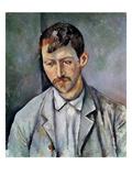 Portrait of a Peasant Reproduction procédé giclée par Paul Cézanne