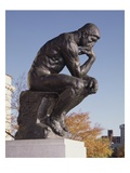 The Thinker, 1904 (Bronze) Giclee Print by Auguste Rodin