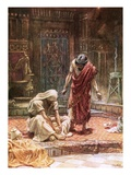 The Sorrow of King David Giclee Print by William Brassey Hole