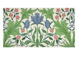 Floral Wallpaper Design Giclée-tryk af William Morris