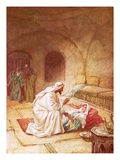 Jesus Reviving Jairus's Daughter Giclee Print by William Brassey Hole