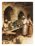 Jeremiah and the Potter Giclee Print by William Brassey Hole