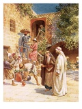 The Marriage in Cana Giclee Print by William Brassey Hole