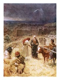 King David Purchasing the Threshing Floor Giclee Print by William Brassey Hole