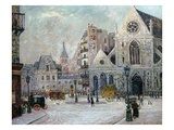 The Church of St. Nicolas-Des-Champs, Rue St. Martin, Paris, 1908 Giclee Print by Maxime Emile Louis Maufra