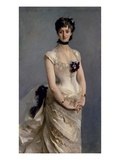 Madame Paul Poirson, 1885 Giclee Print by John Singer Sargent