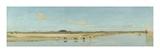 The River Ofanto Giclee Print by Giuseppe De Nittis