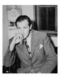Benjamin 'Bugsy' Siegel (B/W Photo) Giclee Print by  American Photographer