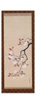 Hanging Scroll Depicting Cherry Blossoms, from a Triptych of the Three Seasons, Japanese Giclée-Druck von Sakai Hoitsu