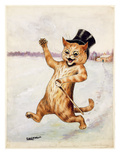 Top Cat! Reproduction procédé giclée par Louis Wain