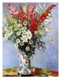 Vase of Flowers, 1878 Giclee Print by Claude Monet