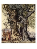 I Am Old Philemon! Murmured the Oak, Illustration from 'A Wonder Book for Girls and Boys' Giclee Print by Arthur Rackham