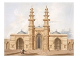 The Shaking Minarets of Ahmedabad Giclee Print by Captain Robert M. Grindlay